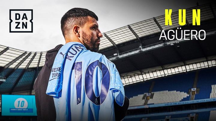 """Sergio Agüero: """"El mejor delantero es Mbappé. Quitando a Messi, que es de otro planeta"""""""