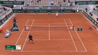 Serena Williams se retira de Roland Garros antes de su partido de segunda ronda