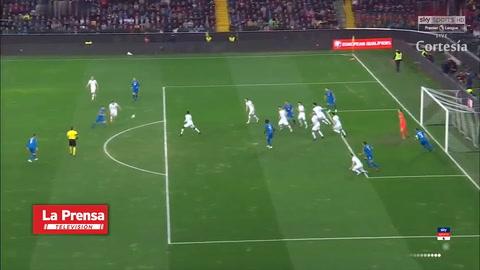 Italia 2-0 Finlandia  (Clasificación para la Eurocopa)