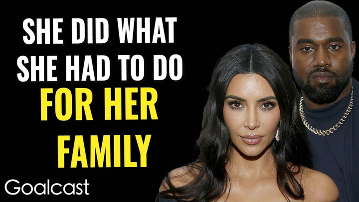 Behind The Kanye West & Kim Kardashian Divorce.. Self Love Set Them Free Life Stories By Goalcast