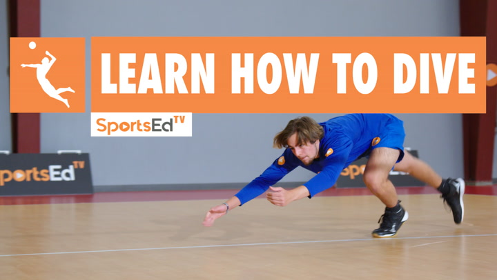 LEARN HOW TO DIVE IN VOLLEYBALL