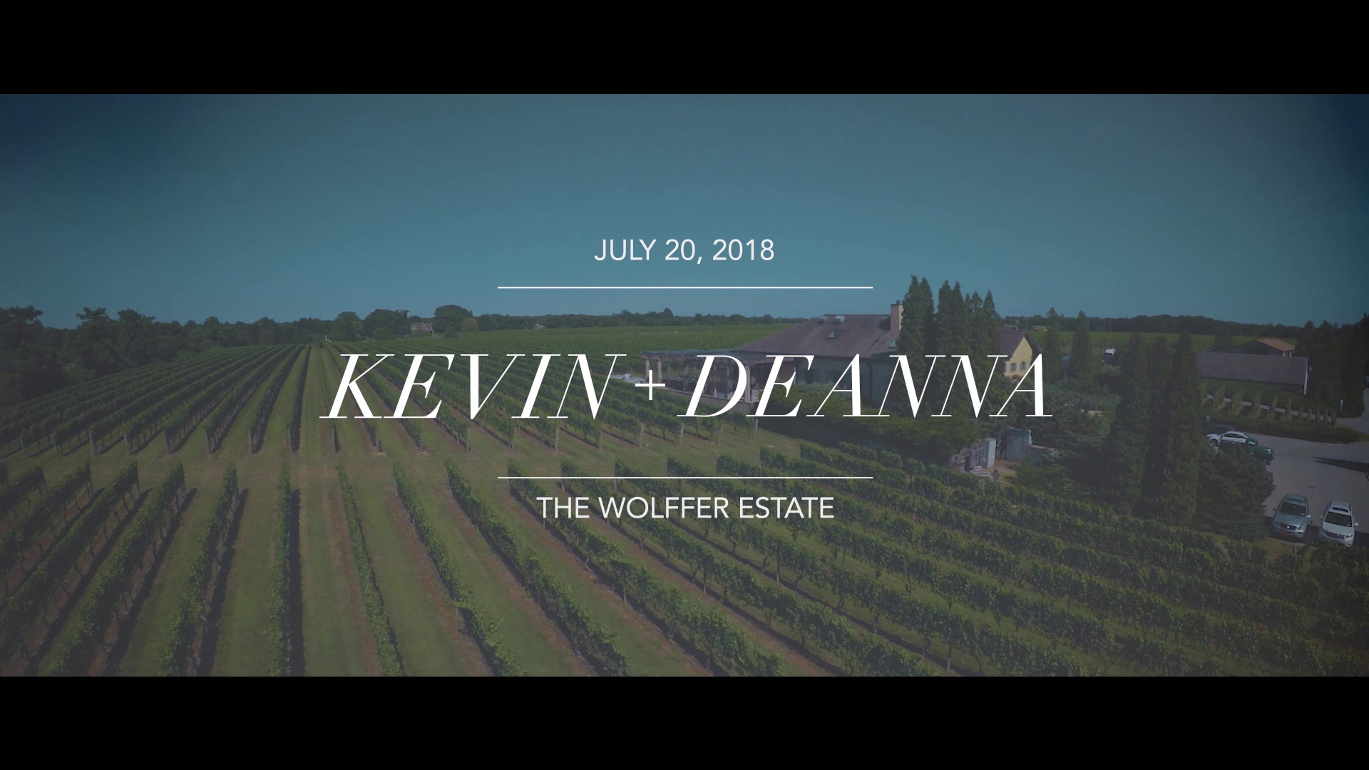 Kevin + Deanna | Sagaponack, New York | The Wolffer Estate