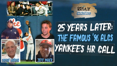 Jeff Maier and umpire Richie Garcia revisit the Yankees famous 1996 ALCS home run call