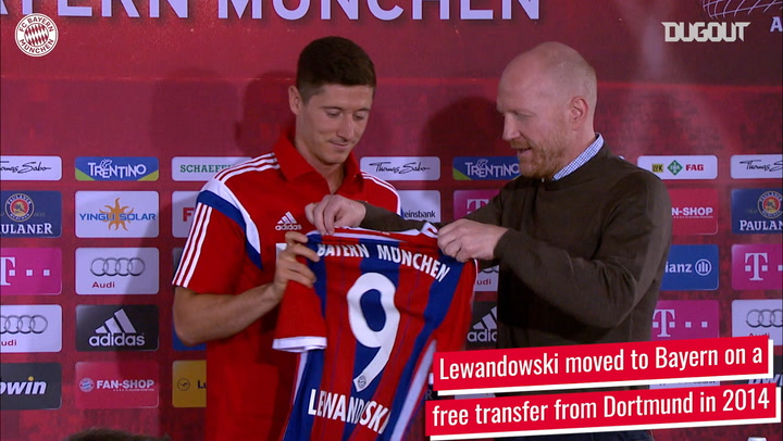 Robert Lewandowski's staggering record vs former club Dortmund