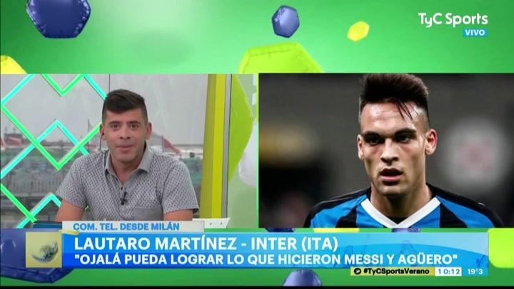 La respuesta de Lautaro al ser preguntado por el Barça