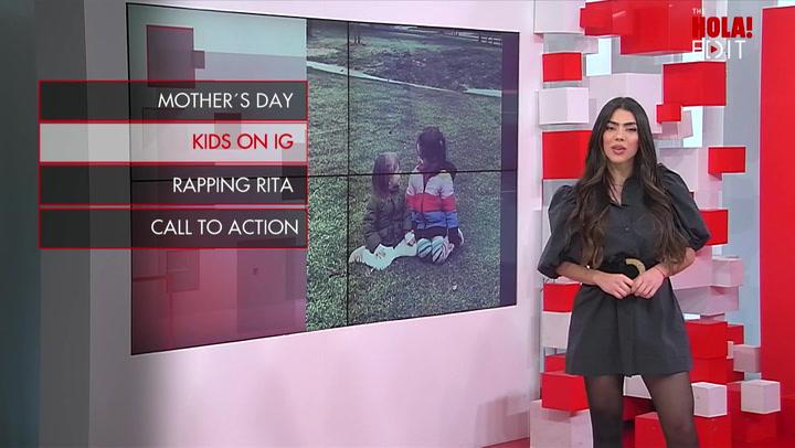 Kailani, daughter of Aislinn Derbez and Mauricio Ochmann, makes Tik Tok debut