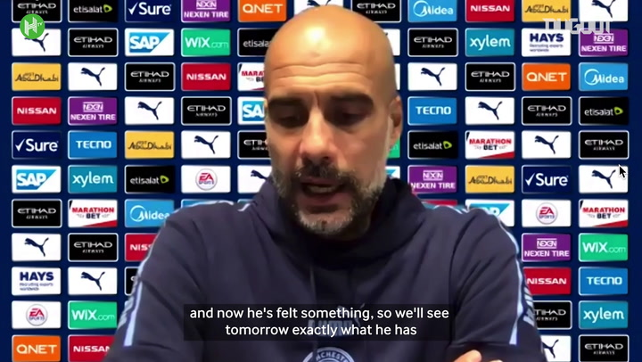 Guardiola fears Agüero's season is over after knee injury