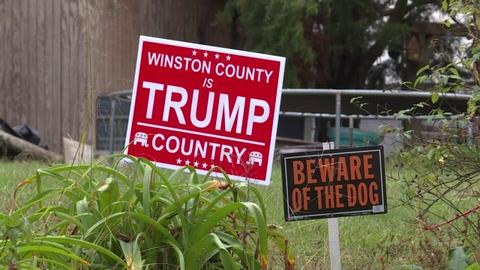 Bienvenidos al Alabama profundo, donde Trump logró 90% de los votos
