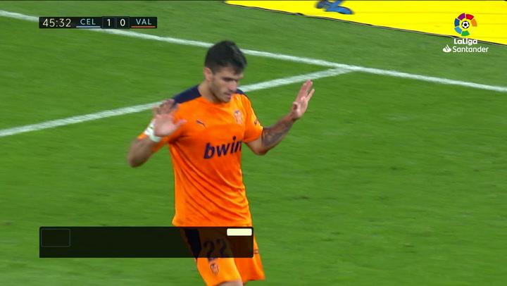 Gol de Maxi Gómez (1-1) en el Celta 2-1 Valencia
