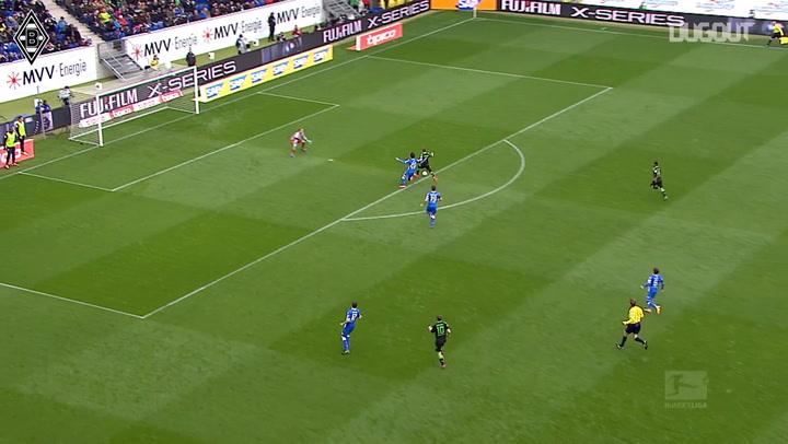 Kruse's superb assist for Patrick Herrmann
