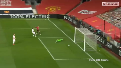 Manchester United 5-0 RB Leipzig (Champions League)
