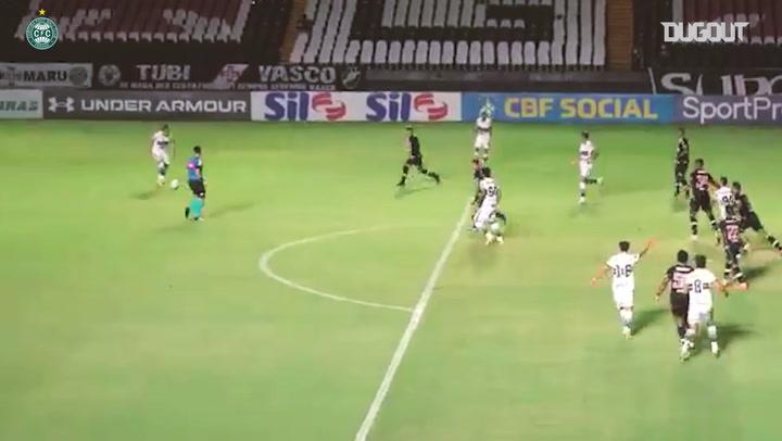 Coritiba beat Vasco at São Januário in the Brasileirão Série A