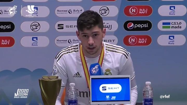 Fede Valverde pide disculpas a Morata por su expulsión