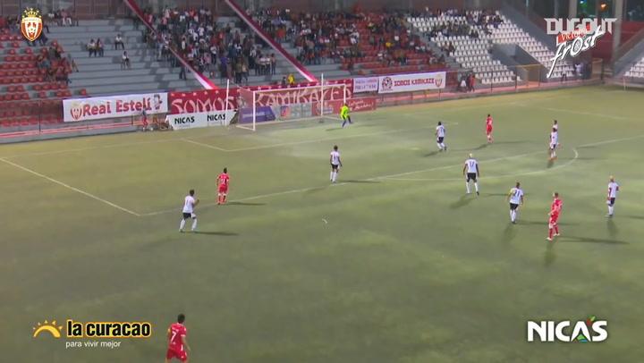 Richard Rodríguez's long-range strike