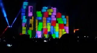Comayagua enamoró a miles de personas con impresionante video mapping