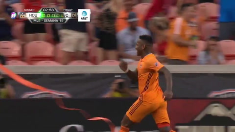 Nuevo gol de Romell Quioto con el Houston Dynamo de la Major League Soccer