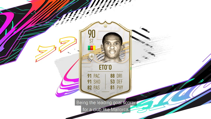 Samuel Eto'o, nuevo icono del FIFA 21