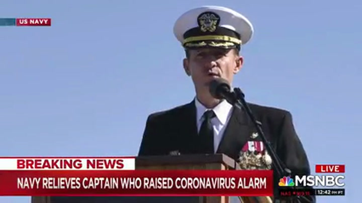 MSNBC's Nance: Ousted Navy Commander 'Great Candidate for the Next Secretary of the Navy'