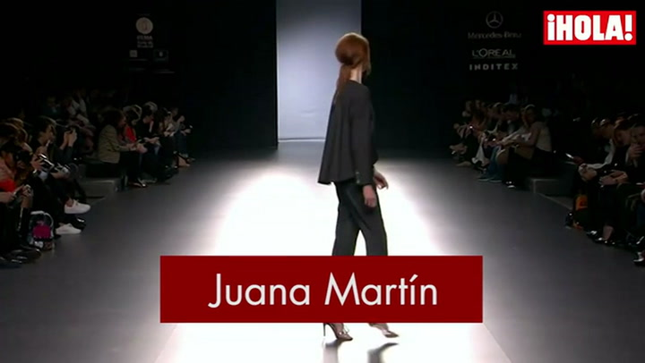 Fashion Week Madrid otoño-Invierno 2015-2016:  Juana Martín