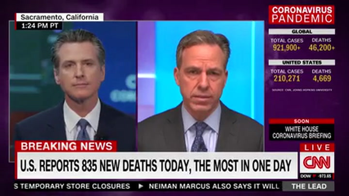 Newsom: 'I Would Be Lying' to Say Trump 'Hasn't Been Responsive to Our Needs'