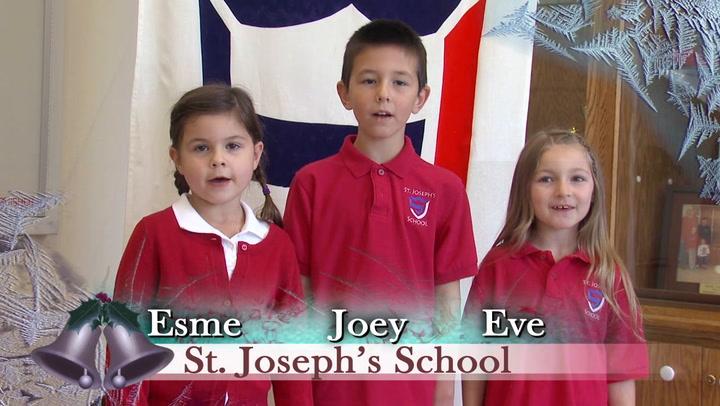 Jingle Bells St. Josephs and Jefferson Elementary Schools