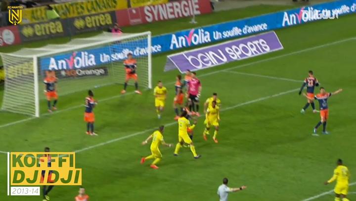 FC Nantes' top five goals vs Montpellier