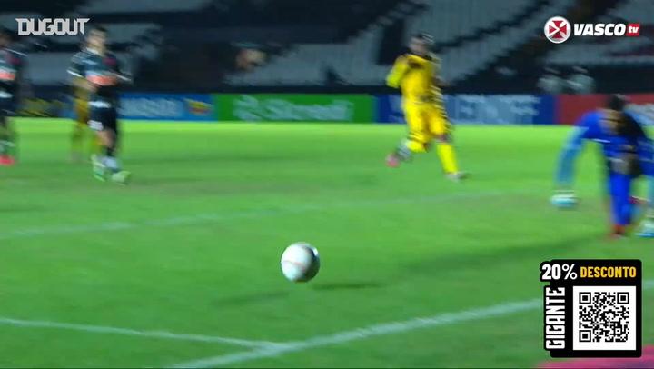 Vasco beat Madureira at São Januário