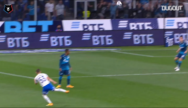 Best goals scored between Zenit v. Dinamo Moscow