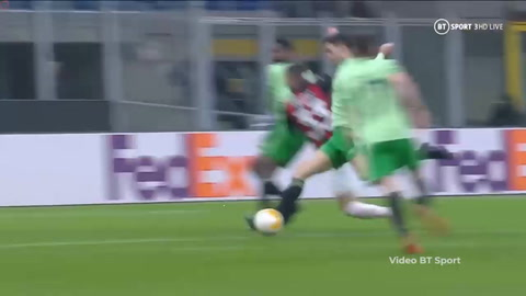 Milan 4-2 Celtic (Europa League)