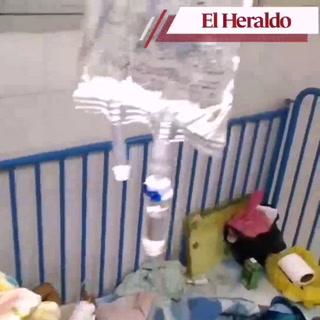 Así luce la sala de emergencia de dengue del Hospital Escuela
