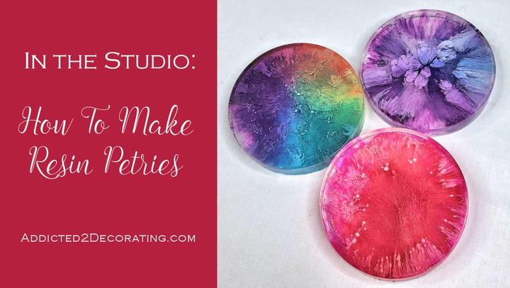 How to make resin petries