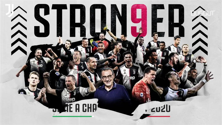 Juventus crowned Serie A champions for ninth successive season