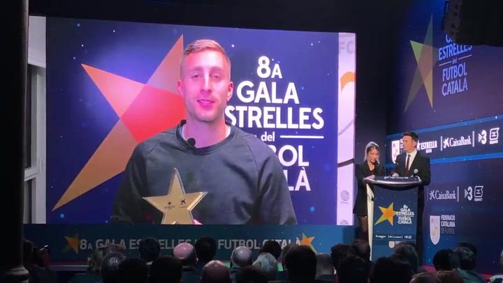Gerard Deulofeu, premiado como máximo goleador del fútbol catalán