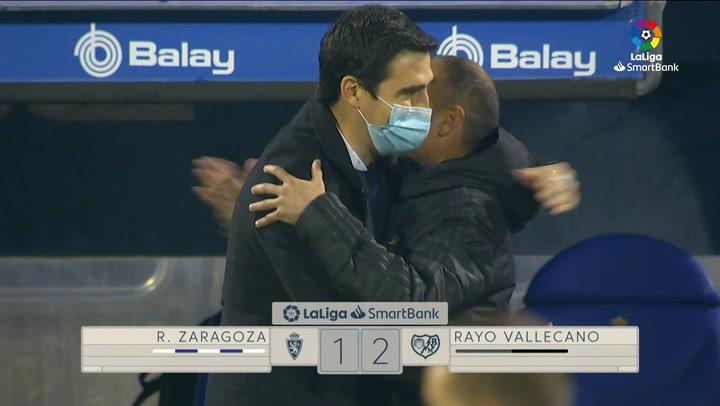 LaLiga SmartBank (J14): Resumen y goles del Zaragoza 1-2 Rayo Vallecano
