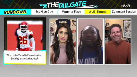The Tailgate: LeGarrette Blount stops by and talks the return of Le'Veon Bell