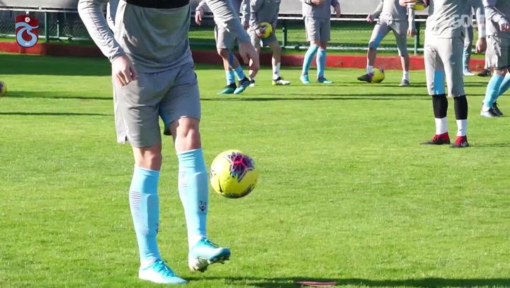 Trabzonspor'da Neşeli Antreman