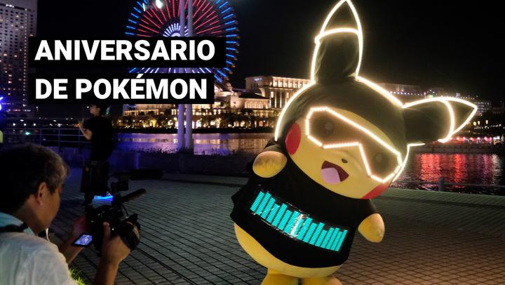 La franquicia de Pokémon cumple su aniversario número 25