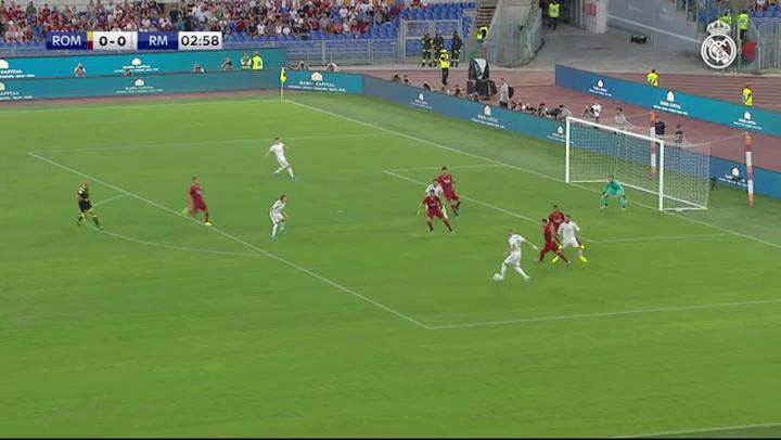 Resumen del Roma-Real Madrid