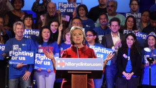 Hillary Gives Victory Speech at Nevada Caucuses