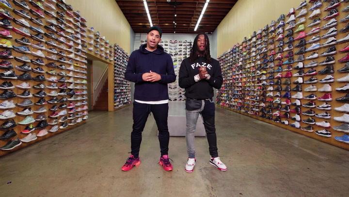 Sneaker Shopping: Offset