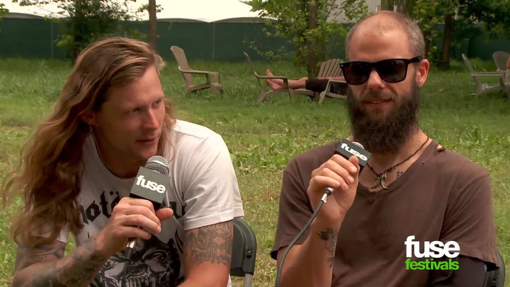 """Baroness at Bonnaroo: """"Life Is Exhausting, Touring Is Fun"""""""