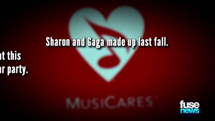 Shows: Fuse News: Lady Gaga Buries the Hatchet With the Osbournes