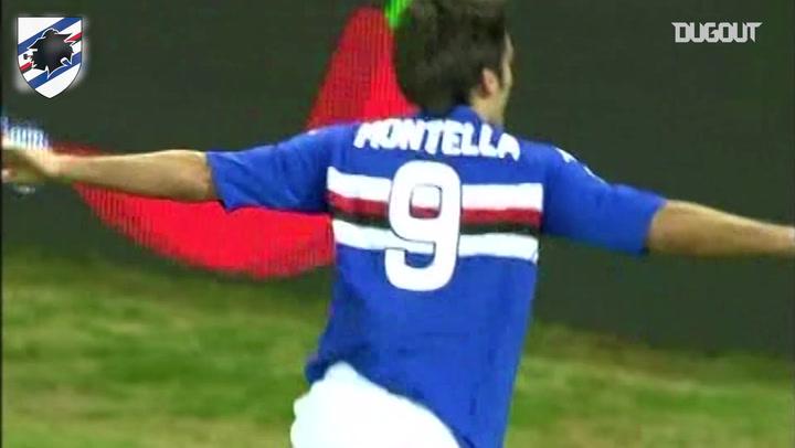 Vincenzo Montella's best Sampdoria moments