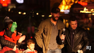Deryk Engelland Tree Lighting At The Cosmo