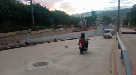 Habilitado el paso por túnel de La Reforma