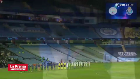 Manchester City 3 - 1 Porto (Uefa Champions League)