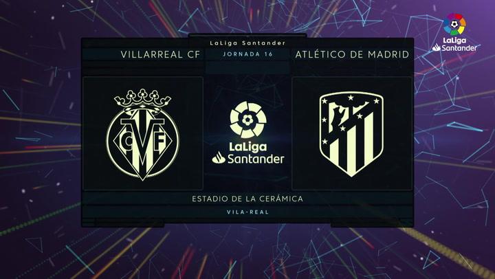 LaLiga Santander (J16): Resumen del Villarreal 0-0 Atlético de Madrid J16