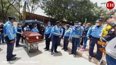 Policía Nacional de luto tras asesinato de dos  agentes en la capital de Honduras