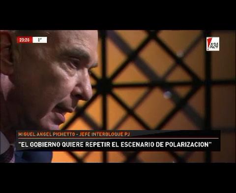 Pichetto: Cristina va a ser candidata a presidenta, es casi obvio