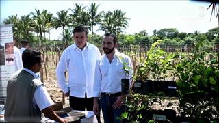 El Salvador y México lanzan plan para atenuar la migración